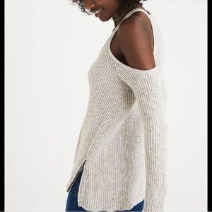 American Eagle Shoulder Cutout Sweater